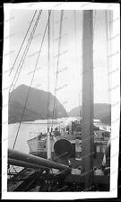 Vintage-Negativ-Panama-Kanal-Canal-Passagier-Dampfer-Schiff-Ship-Bahn-1920s-10