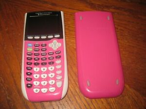 Texas Instruments TI-84 Plus C Silver Edition Color Graphing Calculator Pink