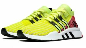 f64fae2ed385 ADIDAS EQT SUPPORT MID ADV PK SNEAKER MEN SHOES YELLOW PINK B37436 ...