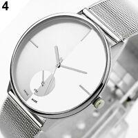 Hot Vogue Classic Womens Men's Quartz Stainless Steel Wrist Watch B28U