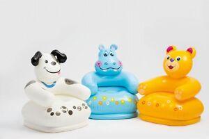 Intex-Kinder-Sessel-aufblasbar-Strandsessel-Moebel-Kindermoebel-Sitz-Baer-oder-Affe