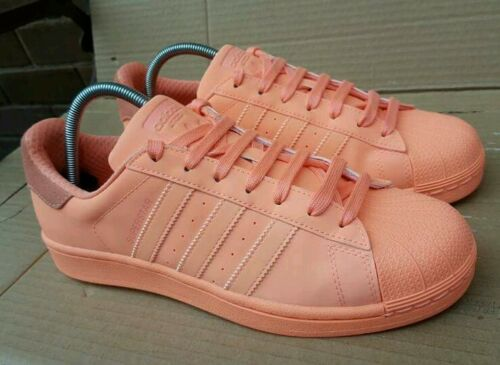 Réfléchissant Taille Baskets Orange Superstar 5 Rare Adidas Adicolor Sunglo 3 L34A5Rj