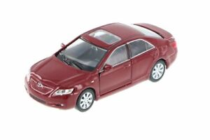 Welly-Toyota-Camry-1-40-scale-4-75-034-diecast-model-car-with-PULL-BACK-Burgundy