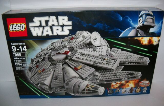 Models Toys,Etc CUSTOM STICKERS for LEGO 7965 Millennium falcon