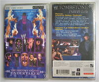 Wwe Tombstone The History Of The Undertaker Umd For Psp Movie Wrestling
