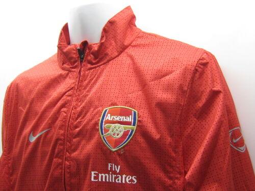 Tuta Rosso Foro Giacca M Vintage Con Arsenal Football Club Nike Nuovo 48Ywzq0