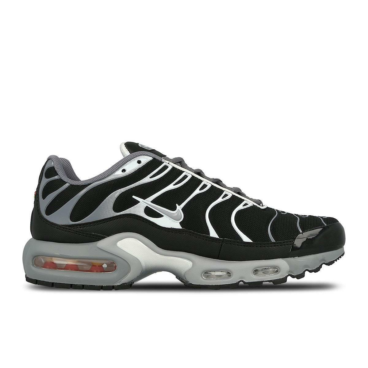 Mens NIKE AIR MAX PLUS Cool grau Trainers 852630 010