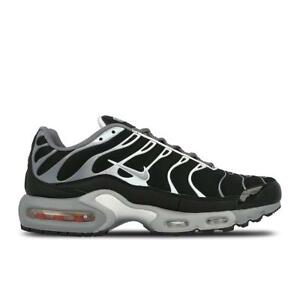 online retailer e4b28 c9123 Image is loading Mens-NIKE-AIR-MAX-PLUS-Cool-Grey-Trainers-