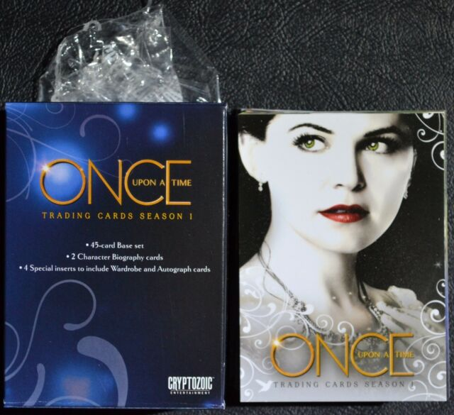Disney Once Upon a Time 1 - 45 Base Set with Box and Wrapper Trading Cards ABC