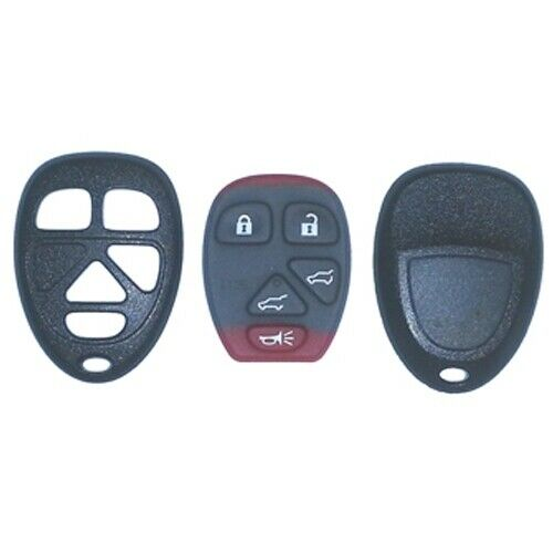 Replacement Case and Button Pad for OUC60270 OUC60221 5 Button w//o Remote Start