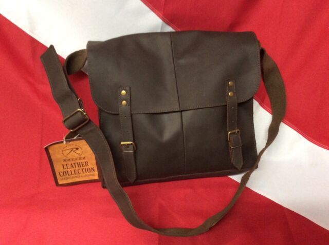 Rothco brown leather medic bag survival emergency tactical disaster GIFT bugout