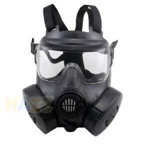 Airsoft-M50-Mascara-de-gas-Mascara-de-cara-completa-CS-Field-Dust-Face-Guard-New