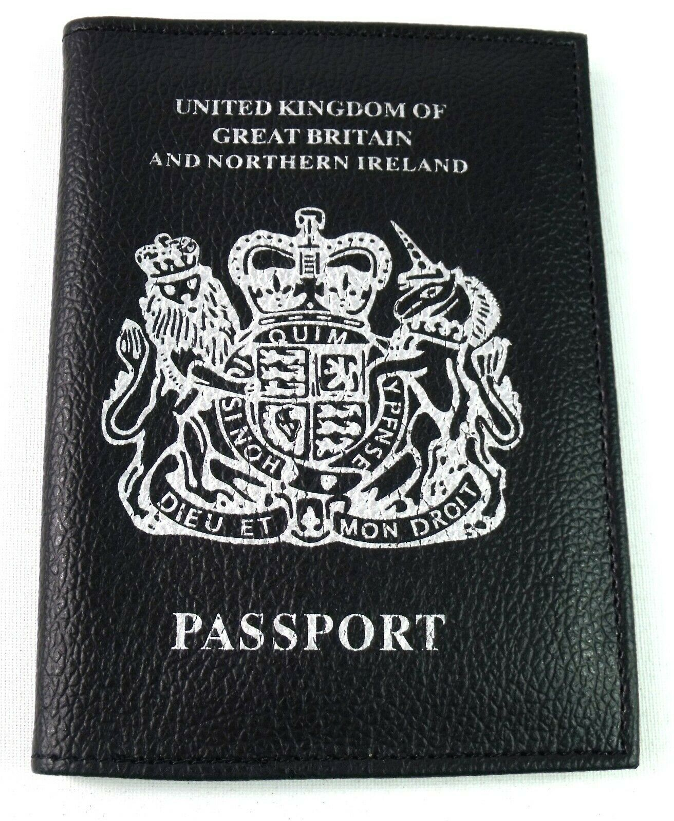 Neuf UK Européen Passport Support Housse Protection Portefeuille Voyage Document