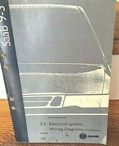 M1999 SAAB 9-3 ELECTRICAL SYSTEM / WIRING DIAGRAM ...