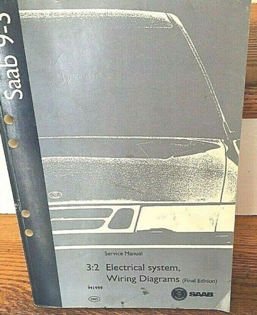M1999 Saab 9  Wiring Diagram