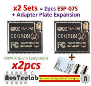 ESP-07 Updated ESP8266 serial WiFi model Authenticity Guaranteed 5pcs ESP-07S