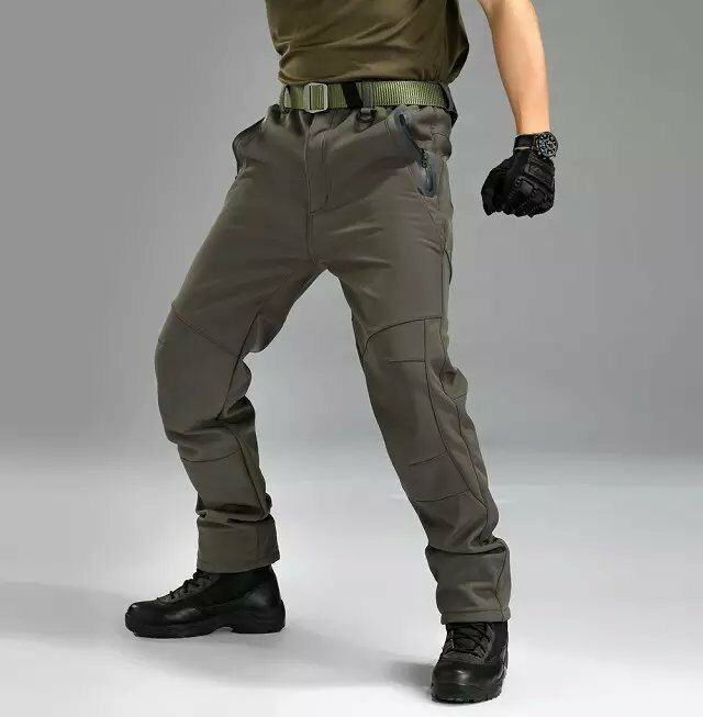Men's Military Hiking Sports Trousers Combat Soft Shell Waterproof  Pantsfor Man  cheap online