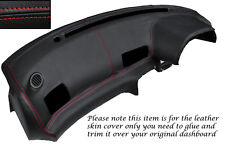RED STITCH DASH DASHBOARD LEATHER COVER FITS NISSAN SKYLINE GTS GTR R32 89-94