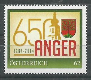 Österreich PM personalisierte Marke 650 Jahre ANGER/Stmk ** - St. Pölten, Österreich - Käufer haben das Recht innerhalb von 10 Tagen den gekauften Artikel zurückzusenden. Die Kosten für die Rücksendung trägt der Käufer. - St. Pölten, Österreich