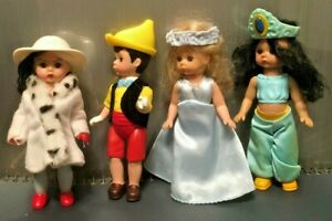 2004 McDonalds Madame Alexander Dolls Happy Meal Cruella De Vil /& Pinocchio