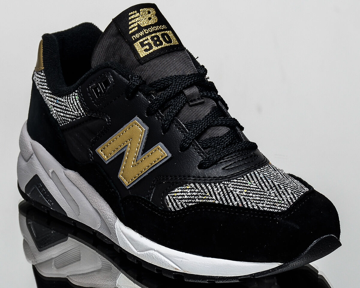 New Balance WMNS 580 NB women lifestyle casual sneakers NEW black gold WRT580-CD