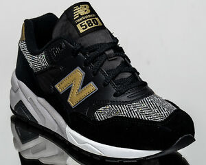 new balance 580 trainers in gold