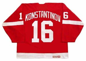 Image is loading VLADIMIR-KONSTANTINOV-Detroit-Red-Wings-1995-CCM-Vintage- a36a170ff