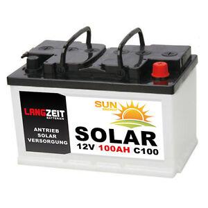Solarbatterie-100Ah-12V-USV-Wohnmobil-Boot-Wohnwagen-Camping-Schiff-Batterie