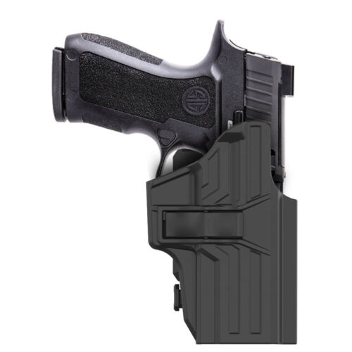 OWB Holster Fit Sig Sauer P320 Campact P320 RX//X Carry 2-in-1 Tactical Holder