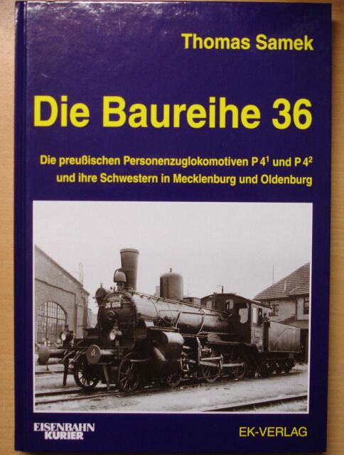 Die Baureihe 36 Dampflock BR36 Modelle preußische Lokomotiven Buch EK Verlag
