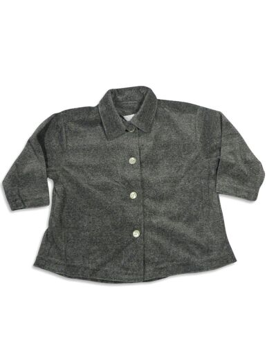Mulberribush Girls Long Sleeve Velour Button Down Jacket Cardigan Shirt Top