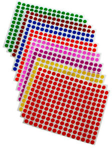 Round-Stickers-1-4-Inch-8mm-Small-Colored-Dots-Round-Circular-Labels-840-Pack