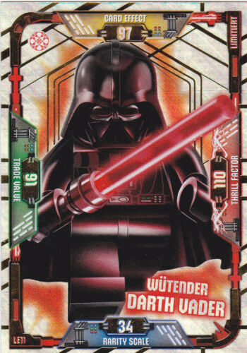 Lego Star Wars Trading Card Game-le11 Angry Darth Vader