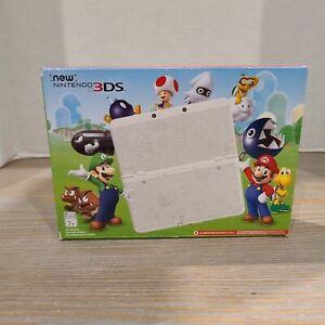 034-New-034-Nintendo-3DS-Super-Mario-White-Edition-Discontinued-CIB-NIB