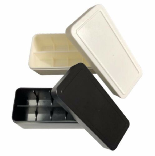 135//120 Film 35mm table Hard Plastic Box Storage Case Holder for 10 Roll Film UK