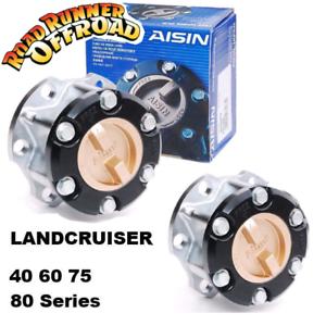 2x AISIN MANUAL Free Wheeling hubs fits Toyota Land Cruiser HZJ HDJ FZJ  75 80 S