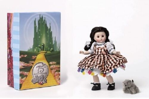 "New Madame Alexander Dorothy Arrives in Munchkinland 8 "" 75 Annv Doll Wizard Oz"
