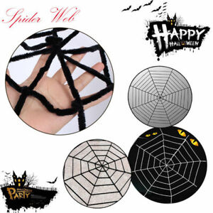 5-7-9-Feet-Giant-Spiders-Web-Cobweb-Halloween-Haunted-House-Party-Decoration