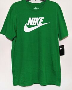 Details about Nike The Nike Tee Men's Green shirt size small. (NWT)