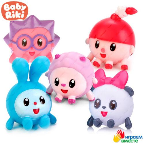 Original Cartoon Character Malyshariki Bath Toys BABYRIKI