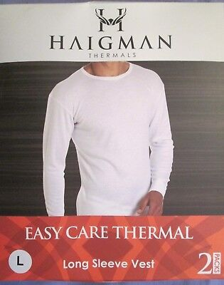Thermals Mens 2 Pack Underwear Base Layer T-Shirts