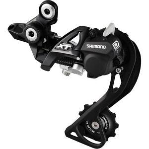 10 Speed Rear Derailleur Black Shimano Deore XT RD-M786-GS SHADOW RD