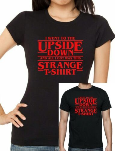 80s Retro STRANGER THINGS Inspired I went to the Upside Down T-Shirt