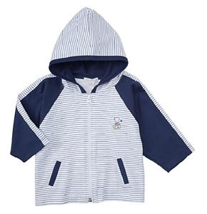 cd6a16feaeea Kissy Kissy Infant Boys  Stripe Hooded Jacket