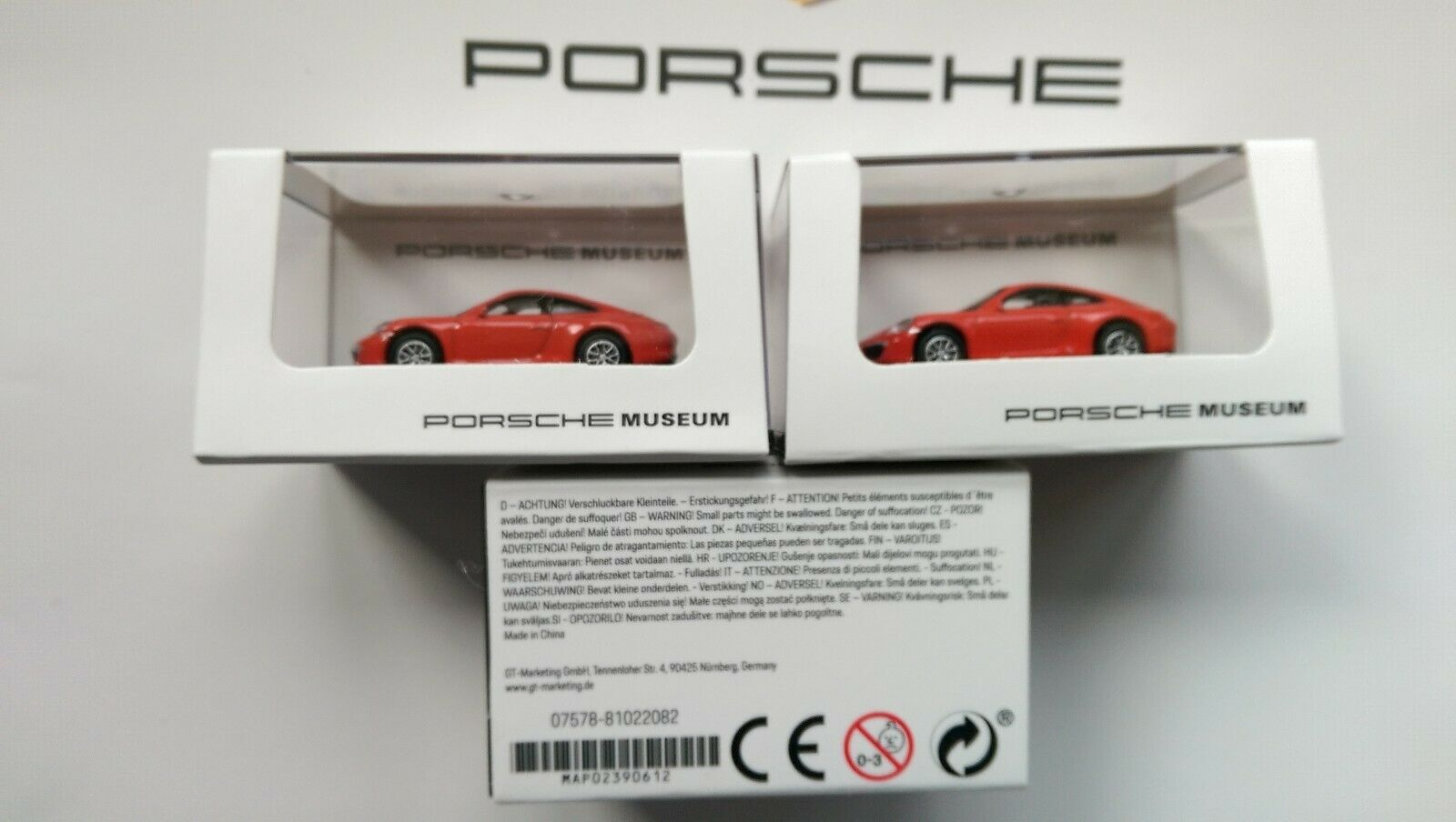 PORSCHE 911 ( 991 ) CARRERA S S S MODEL Porsche Museum   Welly MINIATURE 89613a