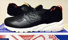 NEW BALANCE 580 MRT580DK MENS 8.5 DECONSTRUCTED BLACK WHITE RED CASUAL $140