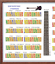 EVERY NOTE IN ANY KEY BASS SLIDE RULE POSTER 5 POSITIONS