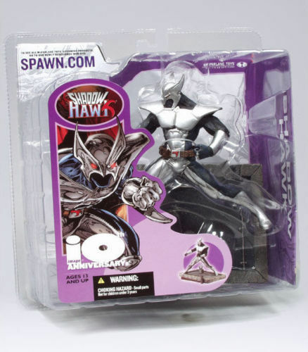 SHADOWHAWK McFarlane Toys Image Comics 10th anniversaire SPAWN Figure amricons
