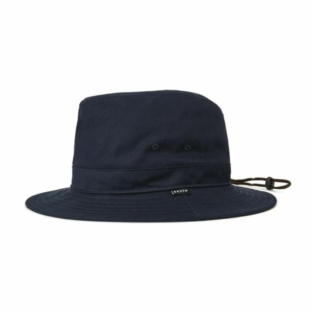 0324ba9b5678e Brixton Unisex Ronson II Fedora Sun Hat Navy M for sale online