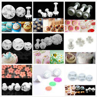 New Cookie Cutter Biscuit  Plunger Sugarcraft Cake Decor Diy Mould Mold Tool